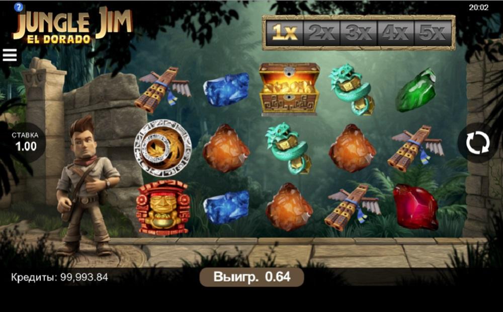 Общая информация об игровом автомате Jungle Jim